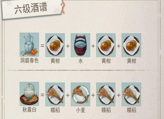 《江湖悠悠》6级酒材料怎样获得_6级酒材料获得方法